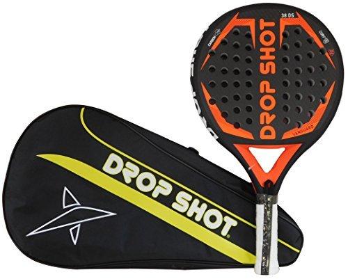 Drop-Shot-Vanguard-Pala-de-Pdel-Unisex-Adulto-Negro-360-385-Gr-0-0