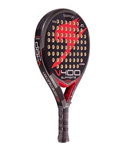 Pala-Pdel-Slazenger-V400-JR-Roja-0-0