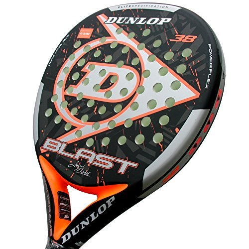 Pala-de-Pdel-Dunlop-Blast-JM-LTD-Orange-0-0