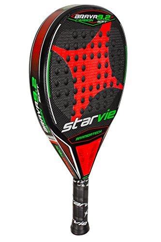 StarVie-Brava-92-DRS-Soft-Pala-de-Pdel-Unisex-Adulto-Rojo-Naranja-360-Gramos-0-0