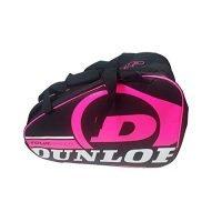 Paletero-de-pdel-Dunlop-Tour-Intro-Negro-Rosa-0-0